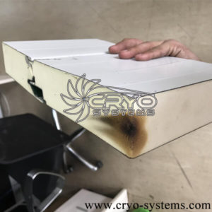 How to identify fireproofing of portable cool room