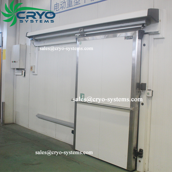Walk In Coolers And Freezers Automatic Sliding Door