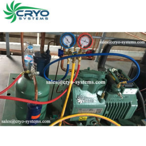 charge the refrigerant